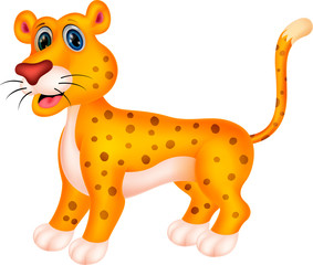 Cheetah cartoon