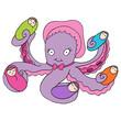 Постер, плакат: Octopus Nanny