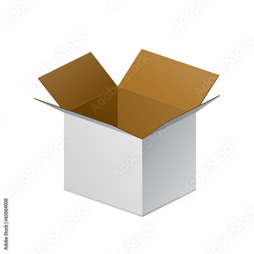 Carton Package Box Open