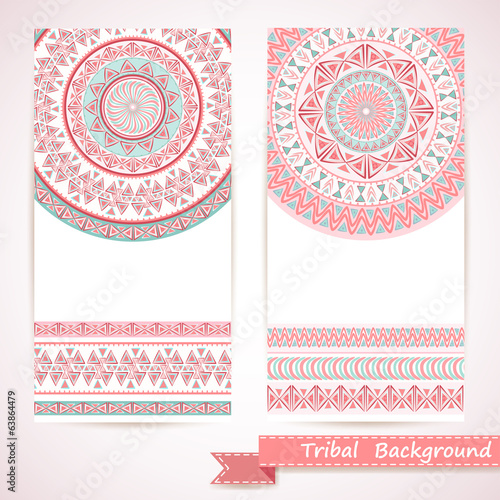 Tribal ornamental background