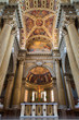 Bologna - Presbytery of Dom or Saint Peters baroque church.