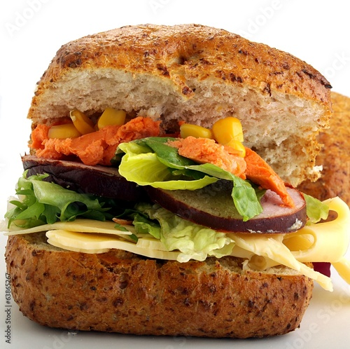sandwich with wholemeal bread