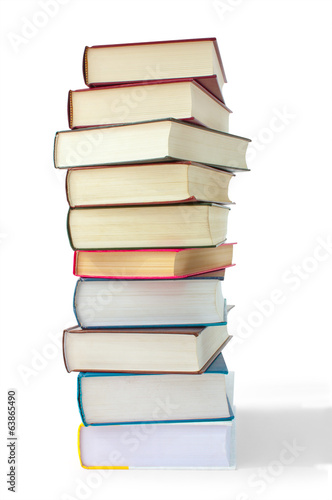 books in the pile