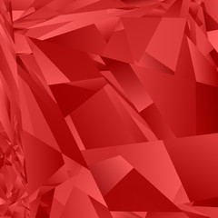 Red abstract irregular rectangle pattern background