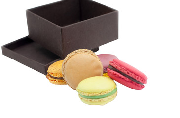 macaron in isolated background