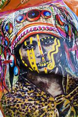Tribal murales