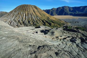 Mount Batok volcano