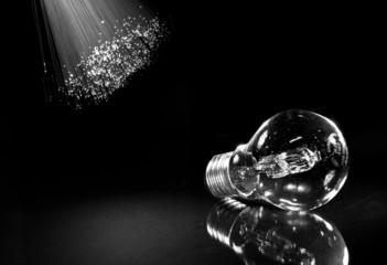 lampadina alla velocità della fibra
