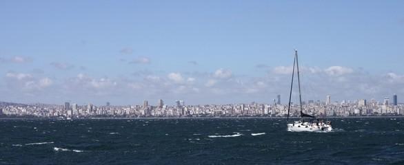 Istanbul modern cityscape