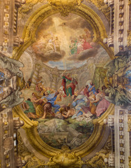 Bologna - Sermon of st. Paul in Athene - st. Pauls church