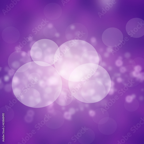 Bright colorful bokeh light effect background
