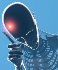 Mal di testa, cefalea, testa, corpo umano ai raggi x