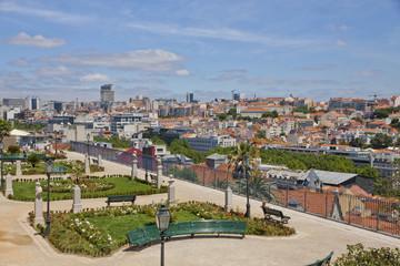 Beautiful view of Lisbon city, Portugal