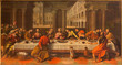 Bologna - Last supper of Christ by Cesare Conegliano