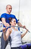 Fototapety Weight training