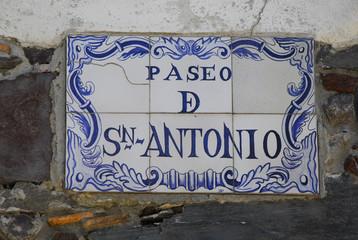 Paseo de San Antonio