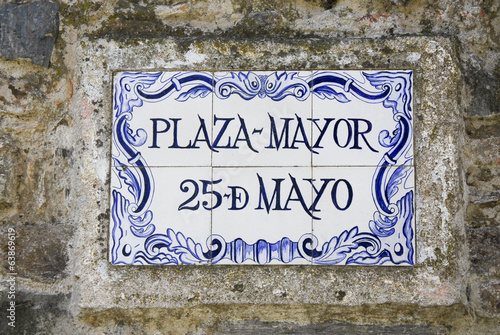 Plaza Mayor 25 de Mayo, colonia del Sacramento