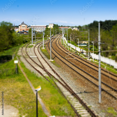 rail tilt shift