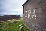 IRA graffiti on Horn Head, Ireland poster