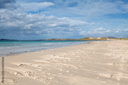 Irish sandy beach
