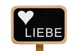 canvas print picture - Liebe