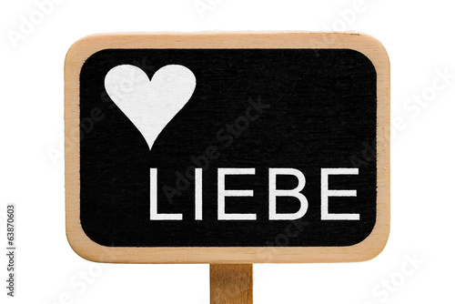 canvas print picture Liebe