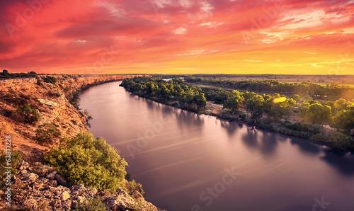 Fotobehang Rivier River Glory