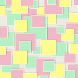 Abstract geometric tiles pattern