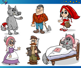 little red riding hood characters