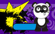 panda bear cartoon wallpaper funny5