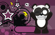 panda bear cartoon wallpaper funny3