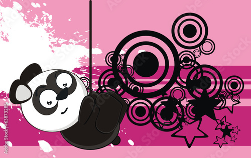panda bear cartoon wallpaper funny