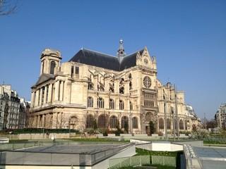 vue de Ste Eustache Paris
