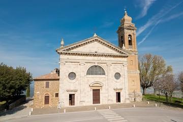 santuario della  SS Madonna del soccorso- Montalcino