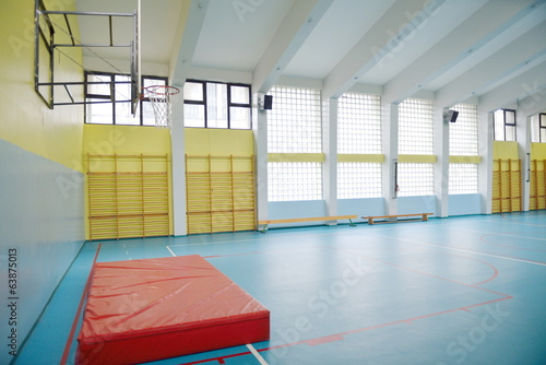 school gym indoor