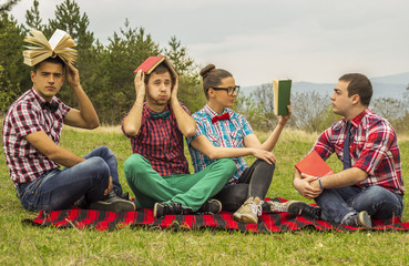 Nerds in the park