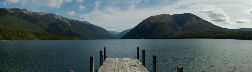 Lake Rotoiti in New Zealand
