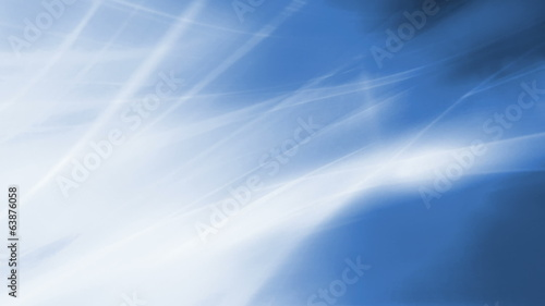 Flowing Blue Rays of Light looping Animated Background
