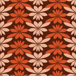 vector seamless abstract pattern with floral elements