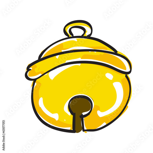 Hand drawn small bell