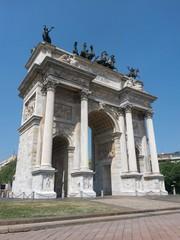 Arco della Pace, Milan, Italy