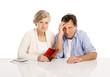 Senior couple in bankrupt