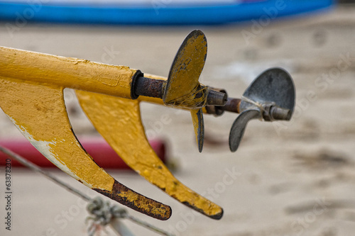 fisherman boat propeller