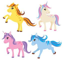 Horse, Pony and Unicorn