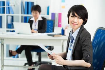 Japanese businesswoman