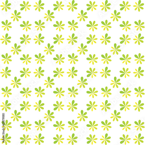 seamless green flower for gift box christmas pattern texture bac