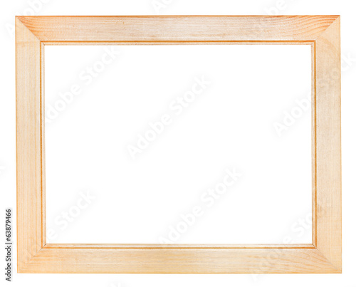 flat wide wooden picture frame