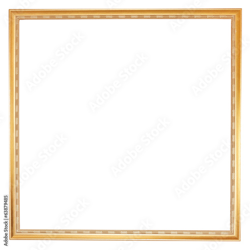 old narrow wooden picture frame