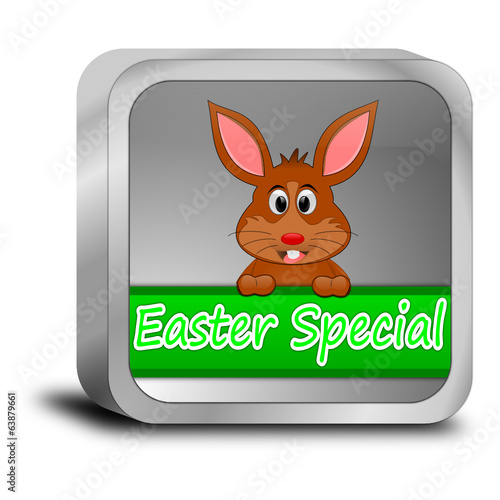 Button Easter Special with easter bunny