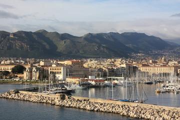 Palermo. Hafen